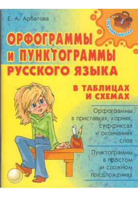 Орфограммы и пунктограммы русского языка в таблицах и схемах