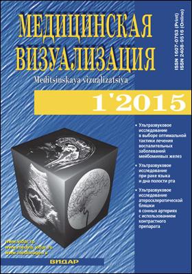 Медицинская визуализация = Medical Visualization. 2015. № 1