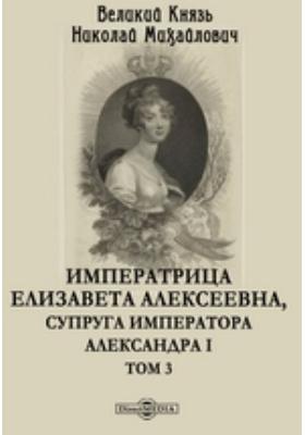 Императрица Елизавета Алексеевна, супруга Императора Александра I: документально-художественная. Т. 3