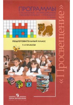 Программы специальных (коррекционных) образовательных учреждений V вида. Подготовительный класс. 1-4 классы