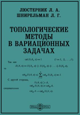 Топологические методы в вариационных задачах