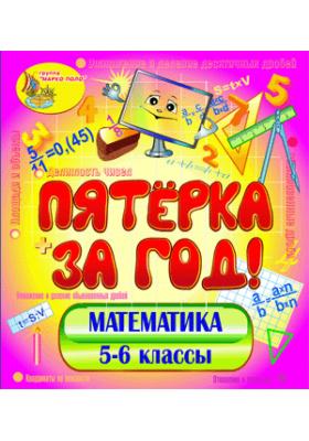 Пятёрка за год. Экспресс-курс по математике. 5-6 классы