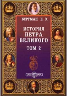 История Петра Великого. Т. 2