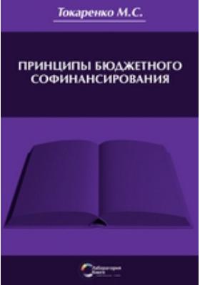 Принципы бюджетного софинансирования