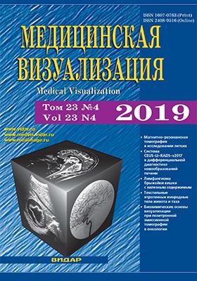 Медицинская визуализация: журнал. 2019. № 4