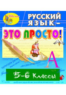 Электронное учебное пособие «Русский язык - это просто! 5-6 классы»