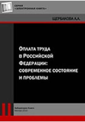 Оплата труда в Российской Федерации: современное состояние и проблемы