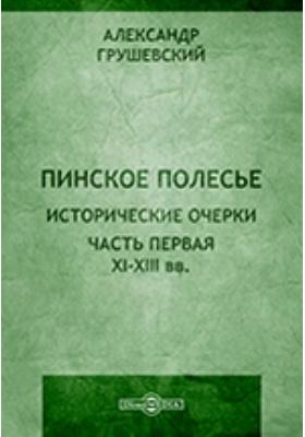 Пинское полесье, Ч. 1. XI - XIII вв