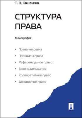 Структура права: монография