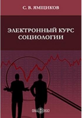 Электронный курс социологии : пособие