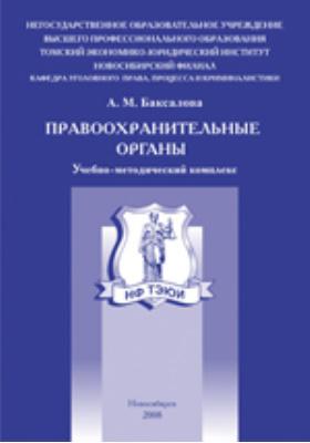 Правоохранительные органы: учебно-методический комплекс