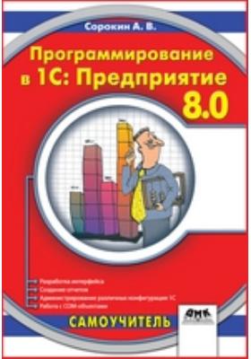 Программирование в 1С Предприятие 8.0: практические рекомендации