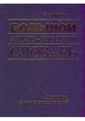 Большой англо-русский словарь : 250 000 слов и словосочетаний