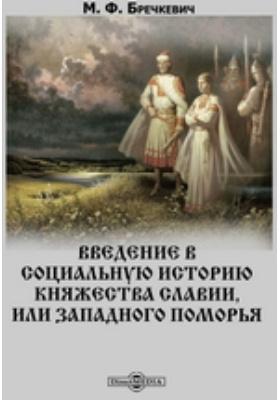 Введение в социальную историю княжества Славии, или Западного поморья