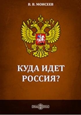 Куда идет Россия? : Стратегия экономического и социального развития: монография