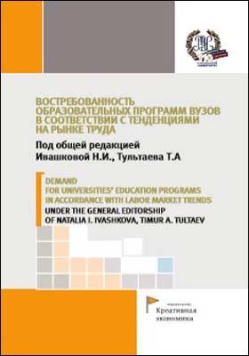 Востребованность образовательных программ вузов в соответствии с тенденциями на рынке труда
