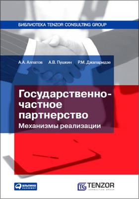 Государственно-частное партнерство : механизмы реализации