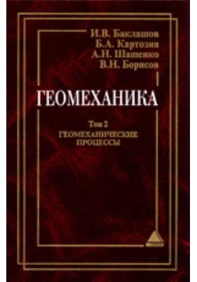 Геомеханика: учебник для вузов. В 2 т. Т. 2. Геомеханические процессы