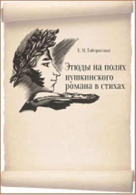 Этюды на полях пушкинского романа в стихах: монография