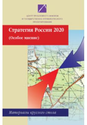 Стратегия России 2020 (особое мнение). Материалы  круглого стола
