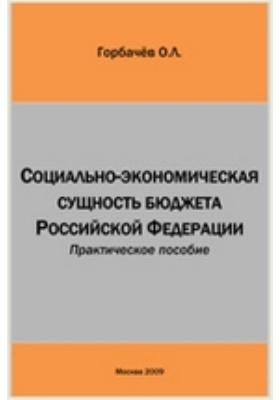 Социально-экономическая сущность бюджета Российской Федерации