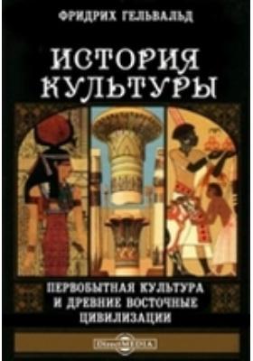 История культуры. (1) Первобытная культура и древние восточные цивилизации