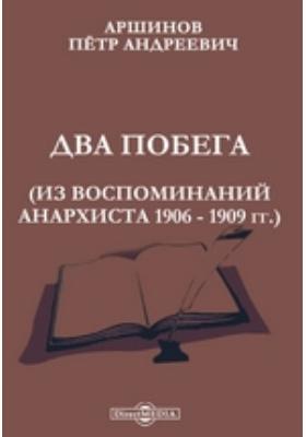 Два побега. Из воспоминаний анархиста 1906 - 1909 гг