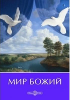 Мир божий. Руководство по русскому языку для приготовительного класса: практическое пособие