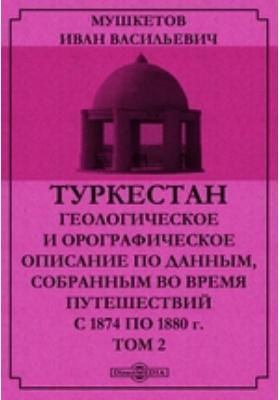 Туркестан. Геологическое и орографическое описание по данным, собранным во время путешествий с 1874 по 1880 г. Т. 2
