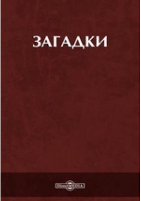 Загадки: художественная литература