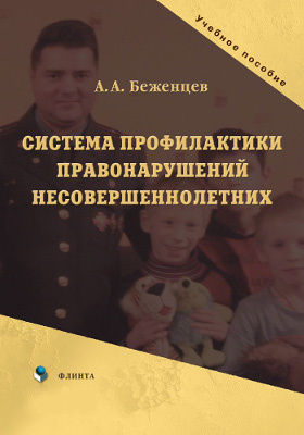 Система профилактики правонарушений несовершеннолетних: учебное пособие