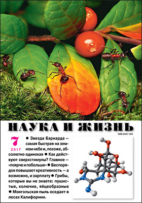 Наука и жизнь: журнал. 2017. № 7