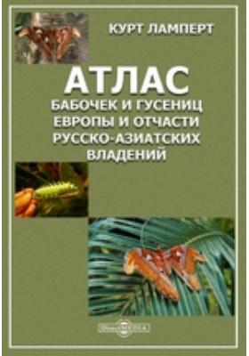 Атлас бабочек и гусениц Европы и отчасти русско-азиатских владений
