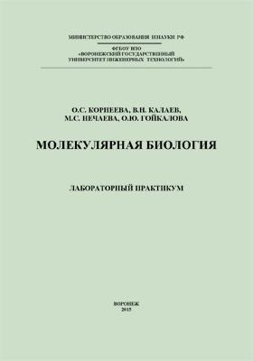 Молекулярная биология : лабораторный практикум