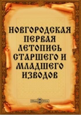 Новгородская первая летопись старшего и младшего изводов: монография