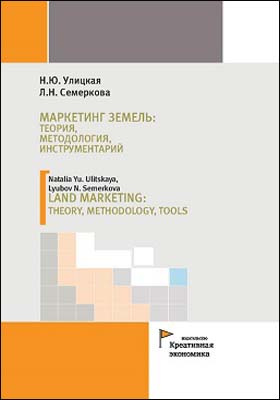 Маркетинг земель: теория, методология, инструментарий = Land marketing: theory, methodology, tools: монография