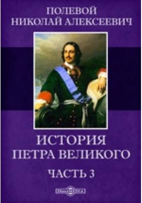 История Петра Великого, Ч. 3