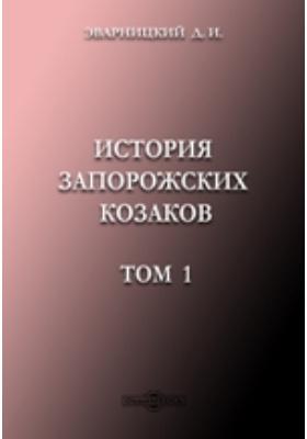 История запорожских козаков 1686-1734. Т. 1
