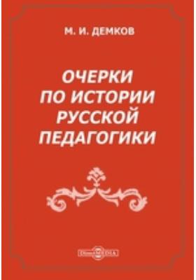 Очерки по истории русской педагогики: публицистика