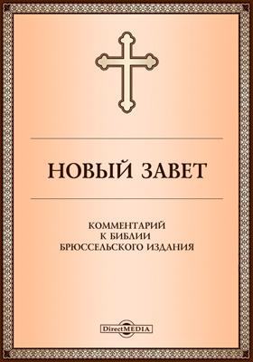 Новый Завет. Комментарий к Библии Брюссельского издания