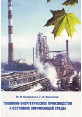 Топливно-энергетическое производство и состояние окружающей среды: учебное пособие