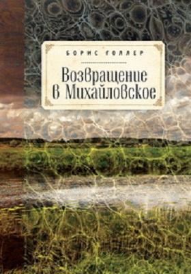 Возвращение в Михайловское : роман: художественная литература