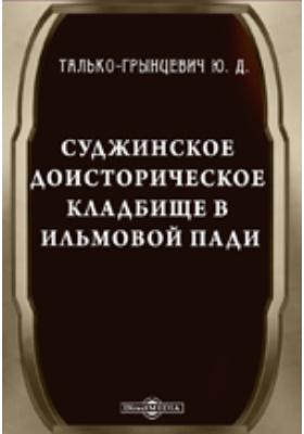 Суджинское доисторическое кладбище в Ильмовой пади