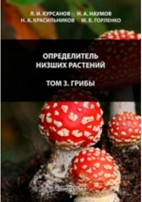Определитель низших растений. Т. 3. Грибы
