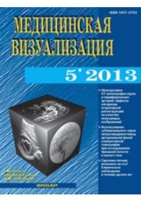 Медицинская визуализация: журнал. 2013. № 5