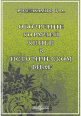Обозрение Кормчей книги в историческом виде: монография