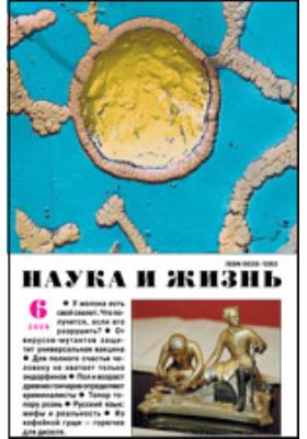 Наука и жизнь: ежемесячный научно-популярный журнал. 2009. № 6