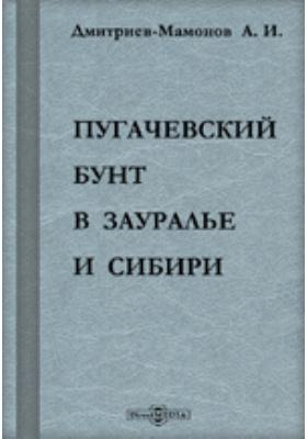 Пугачевский бунт в Зауралье и Сибири. Исторический очерк по официальным документам