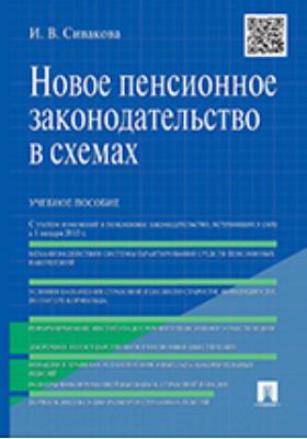 Новое пенсионное законодательство в схемах: учебное пособие