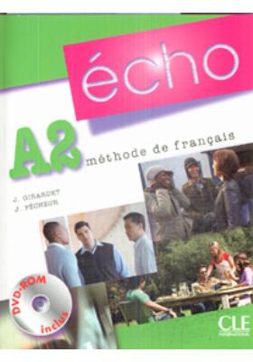 ?cho A2, m?thode de fran?ais : Livre de l'?l?ve + Portfolio + DVD-Rom